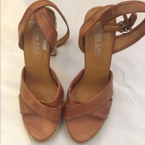 Leather Espadrille Sandals